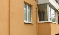 Окна, отделка балконов2